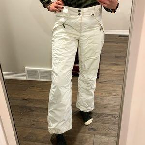 White Firefly Women's Snowpants, Size Medium